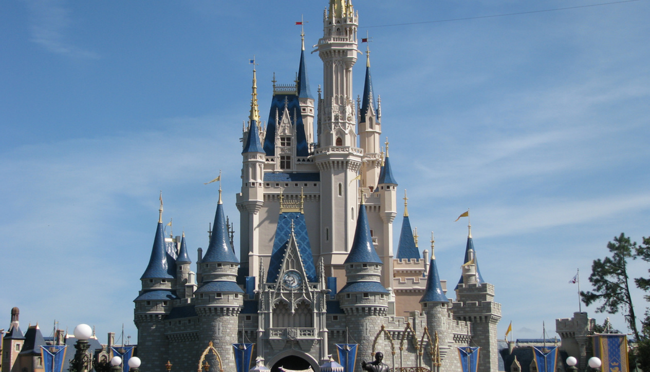 Cinderella's Castle at Disney World by Chris Harrison