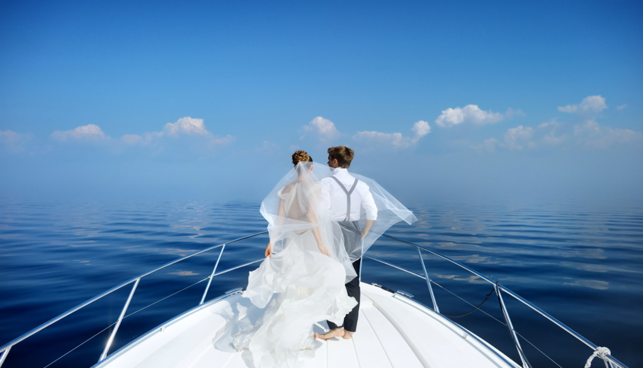 married on a cruise