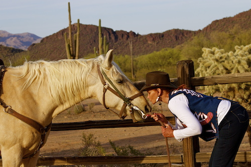 White Stallion Ranch owns one of the largest private herds of horses in Arizona. Photo credit: White Stallion Ranch.