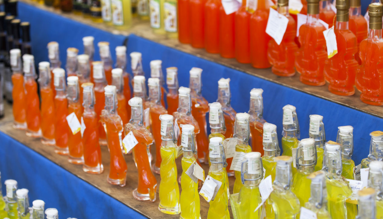 Liqueurs of Italy