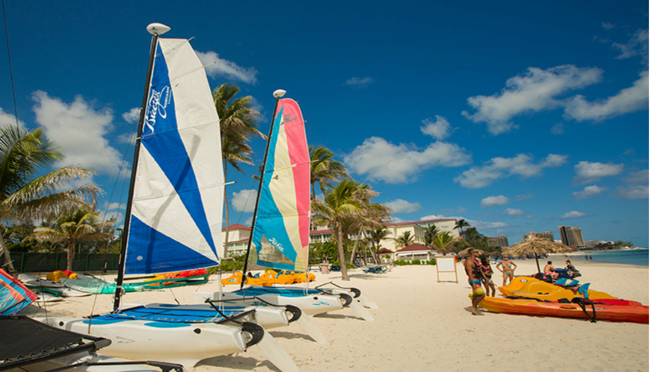 Breezes Bahamas water sports