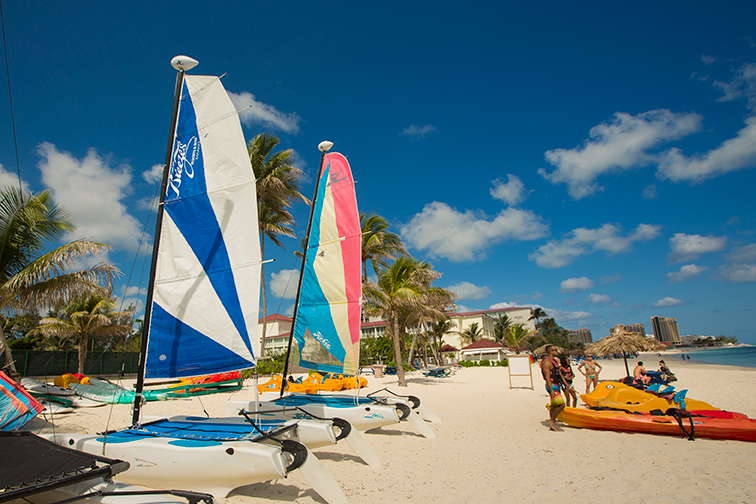 Water sports at Breezes Bahamas