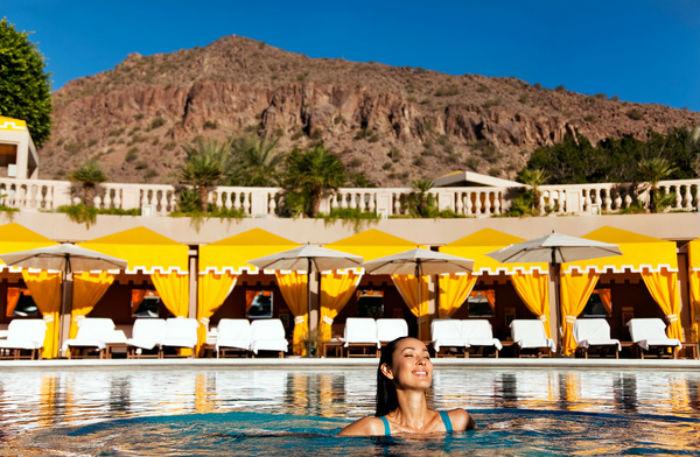 Pool at the Phoenician Resort, Scottsdale, Arizona