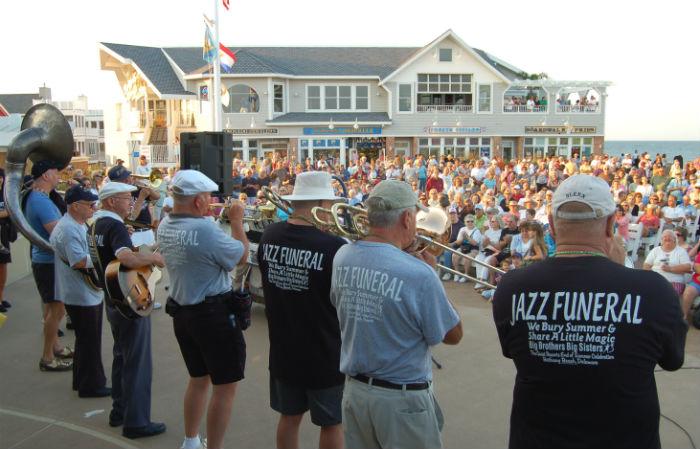 Bethany Beach Jazz Funeral