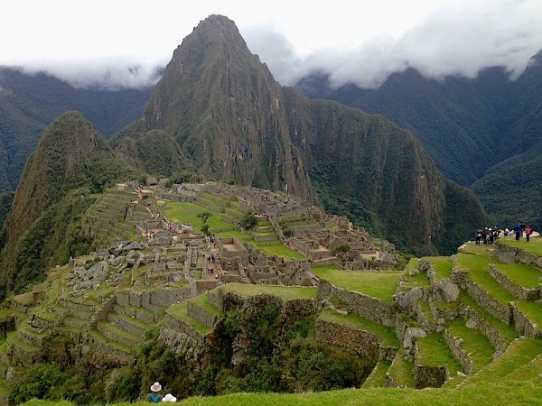 A view of Machu Picchu. Courtesy of AllyMarotti.