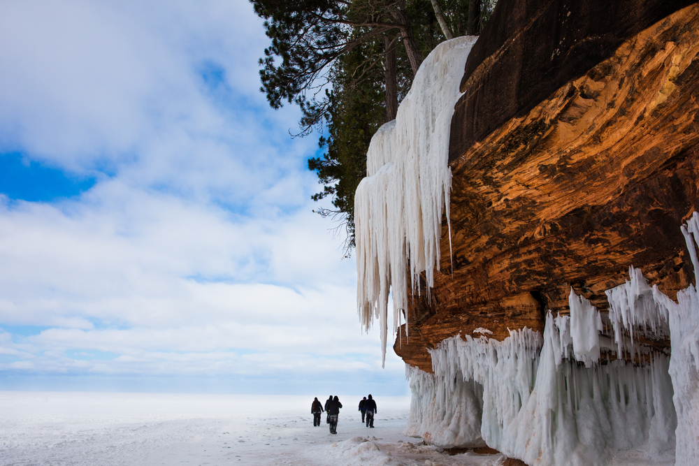 Apostles Island in Bayfield, Wisconson