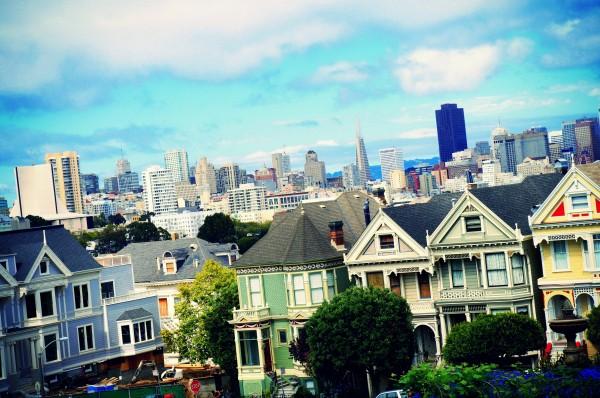 San Francisco- Painted Ladies houses