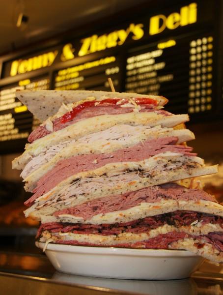 The Zellagabetsky sandwich Kenny & Ziggy's