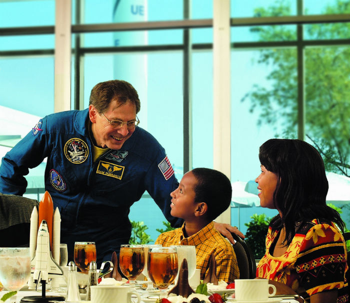 Lunch With an Astronaut | Photo: Courtesy of Kennedy Space Center