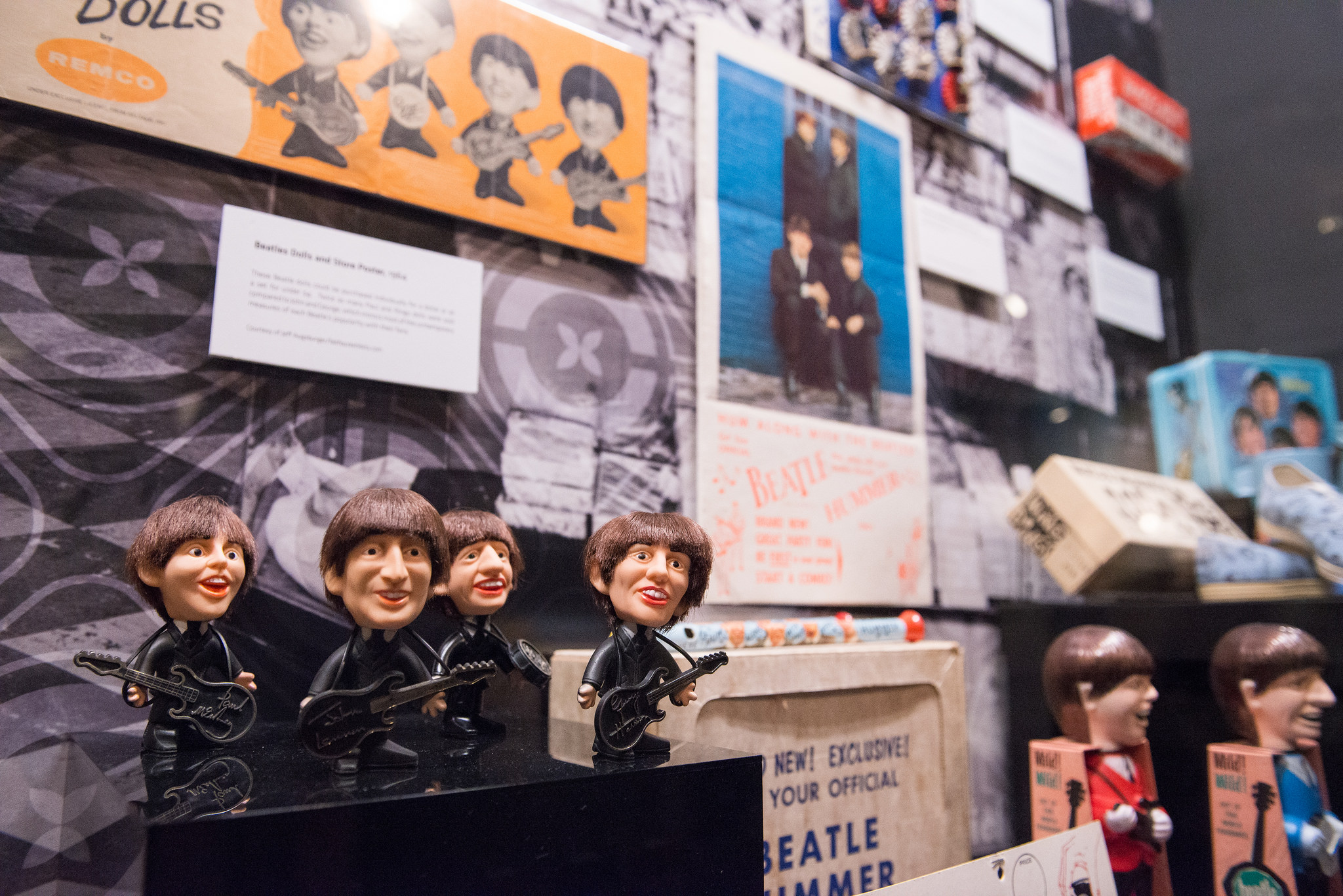 From a traveling exhibition featured at the Grammy Museum