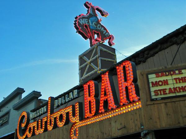 Cowboy Bar, Jackson Hole | Credit: Evelyn Kanter