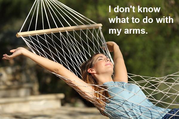 TSA-travel stock photo-relaxing on a hammock