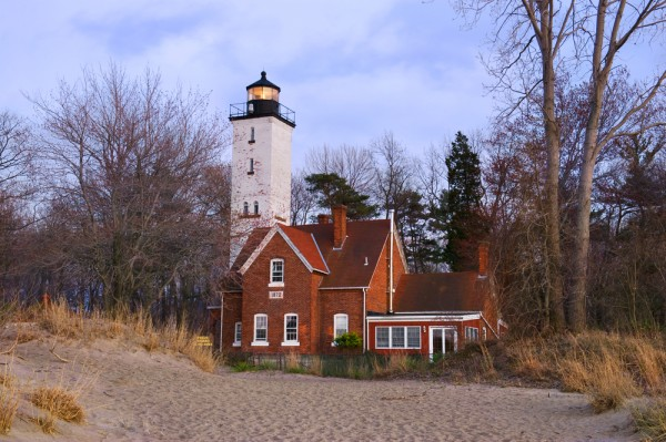 Presque Ise Lighthouse in Erie, Pennsylvania