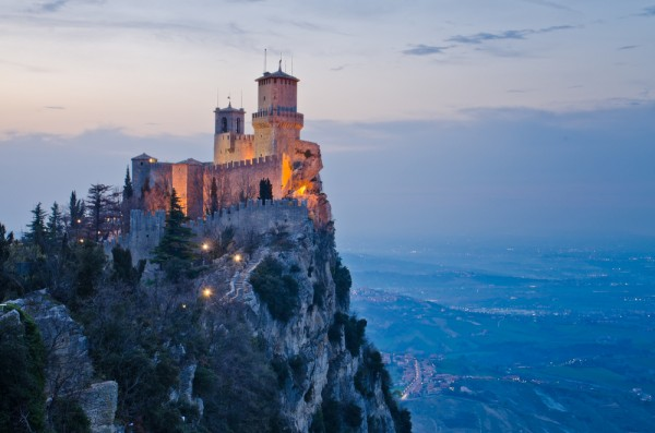least visited countries- san marino