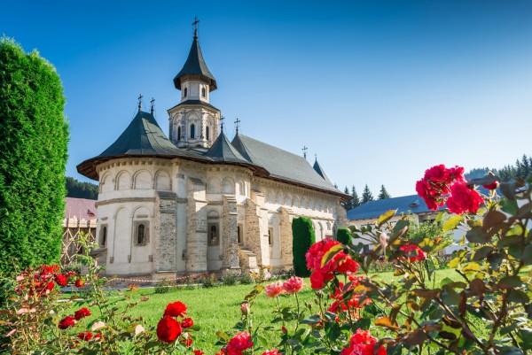 Putna Monastery in Moldova