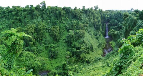 Sopo'aga Falls in Samoa