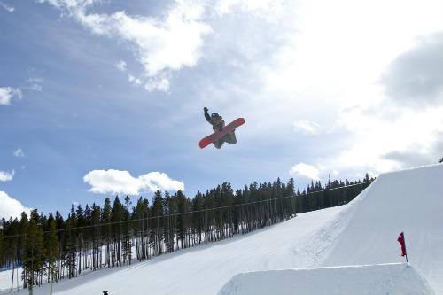 Terrain Park at Breckendridge Ski Resort | Credit: Nick Pease / Breckenridge Ski Resort