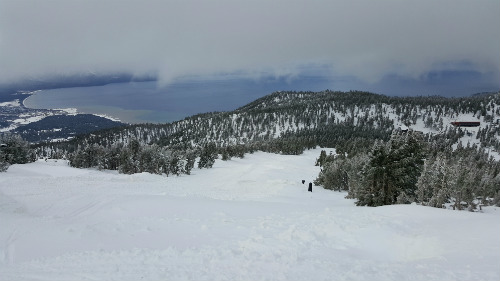 Ample snow on opening day at Northstar, Tahoe