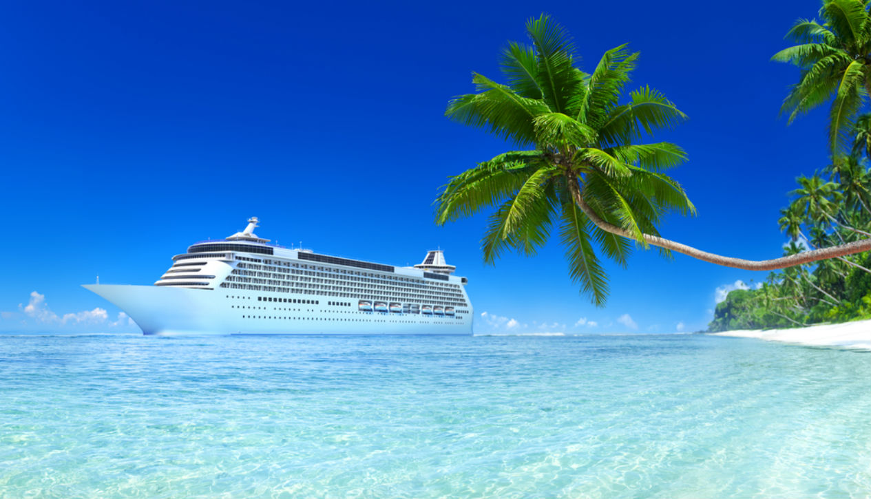 cruise ship, vacation, tropics