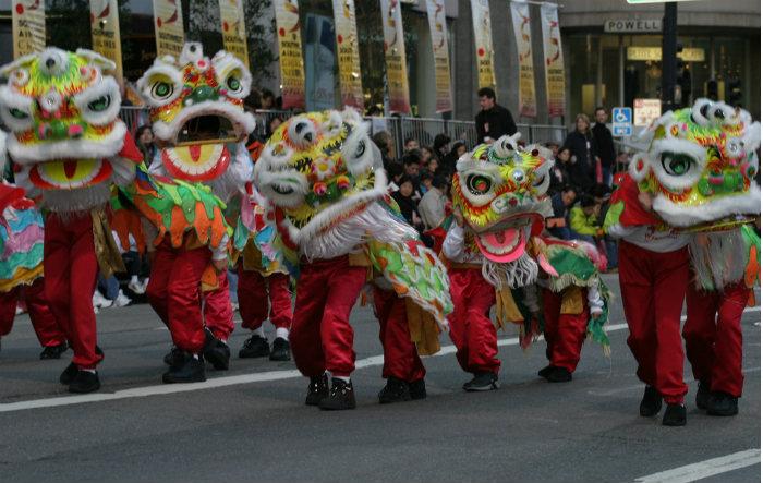 Chinese New Year | Credit: San Francisco Travel Association/Corbett Lee