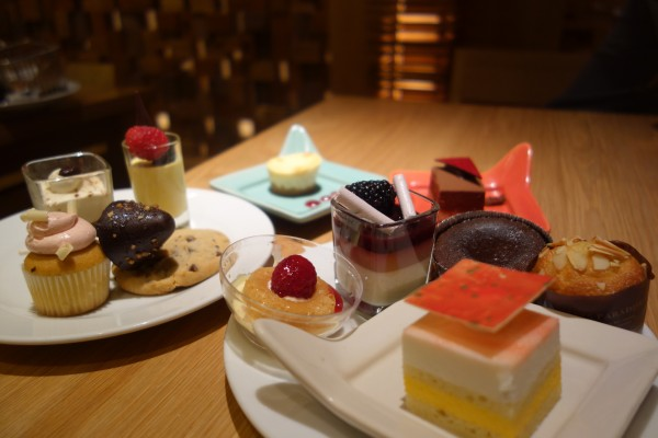 Delicious desserts at the Bacchanal Buffet