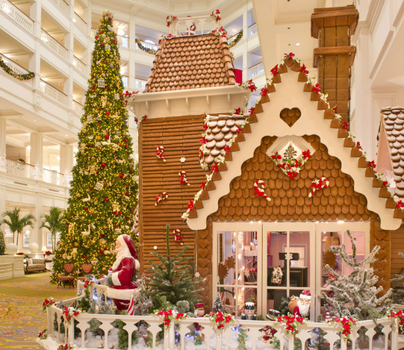 grand floridian at walt disney world florida - Gingerbread Christmas Decorations Beautiful To Look