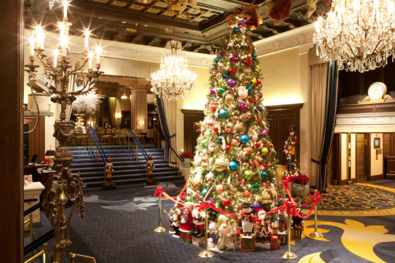 christmas at the drake hotel chicago - Hotel Christmas Decorations
