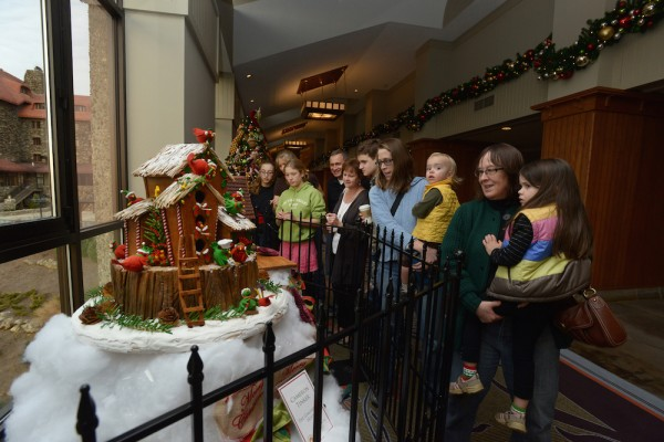 The National Gingerbread Competition in Asheville, North Carolina
