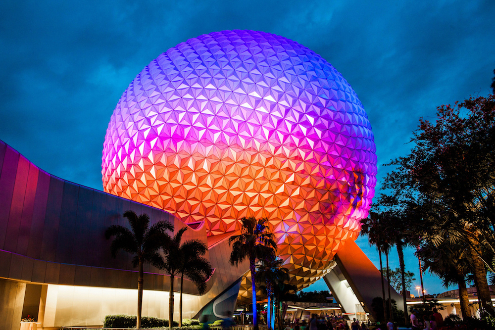 Disney world's Epcot Center