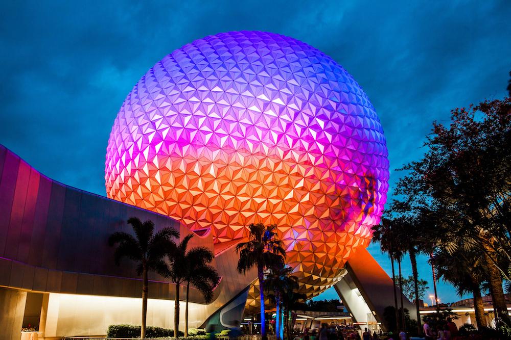 Disney world's Epcot Center