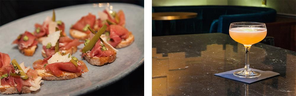 Parisian Ham Plate and The Bennett