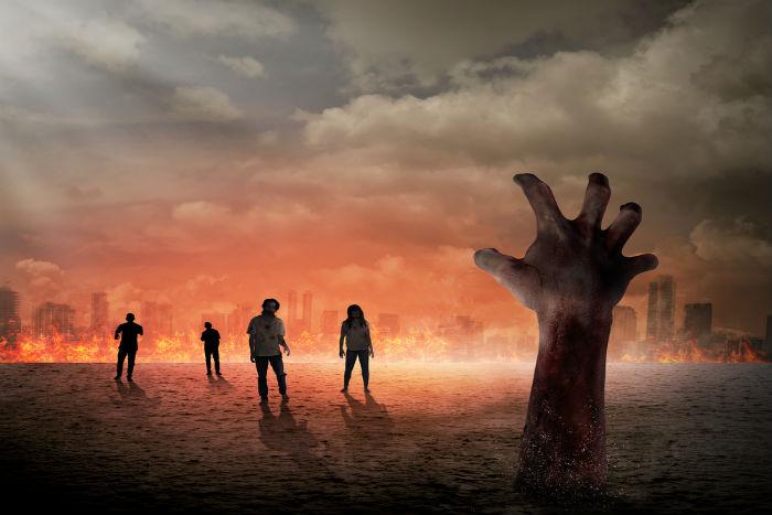 zombies, scary, horror