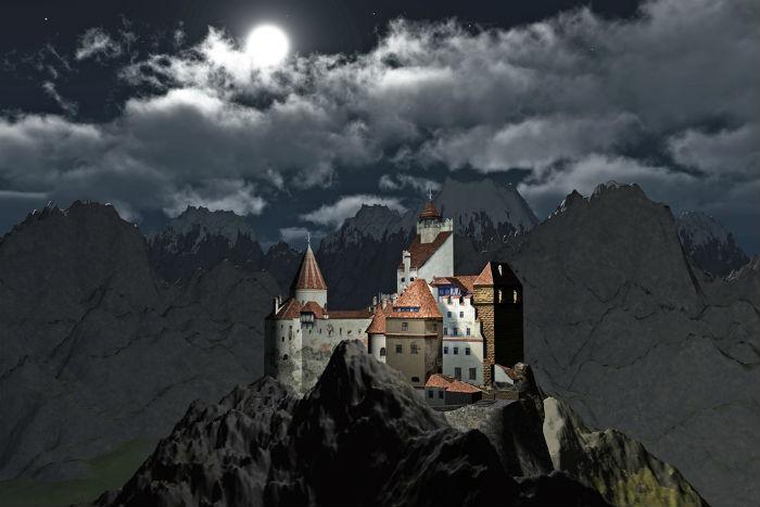 Dracula, Castle, Bran Castle, Romania, Europe