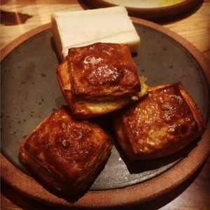 Parsley croissants