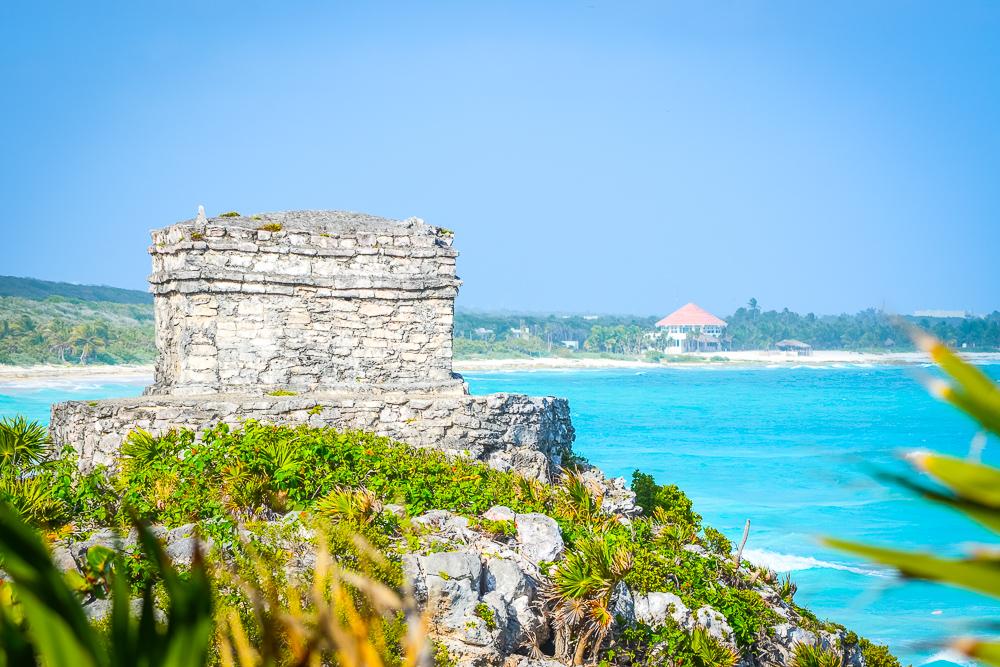 Tulum Mexico - Mayan Ruins - Caribbean Sea