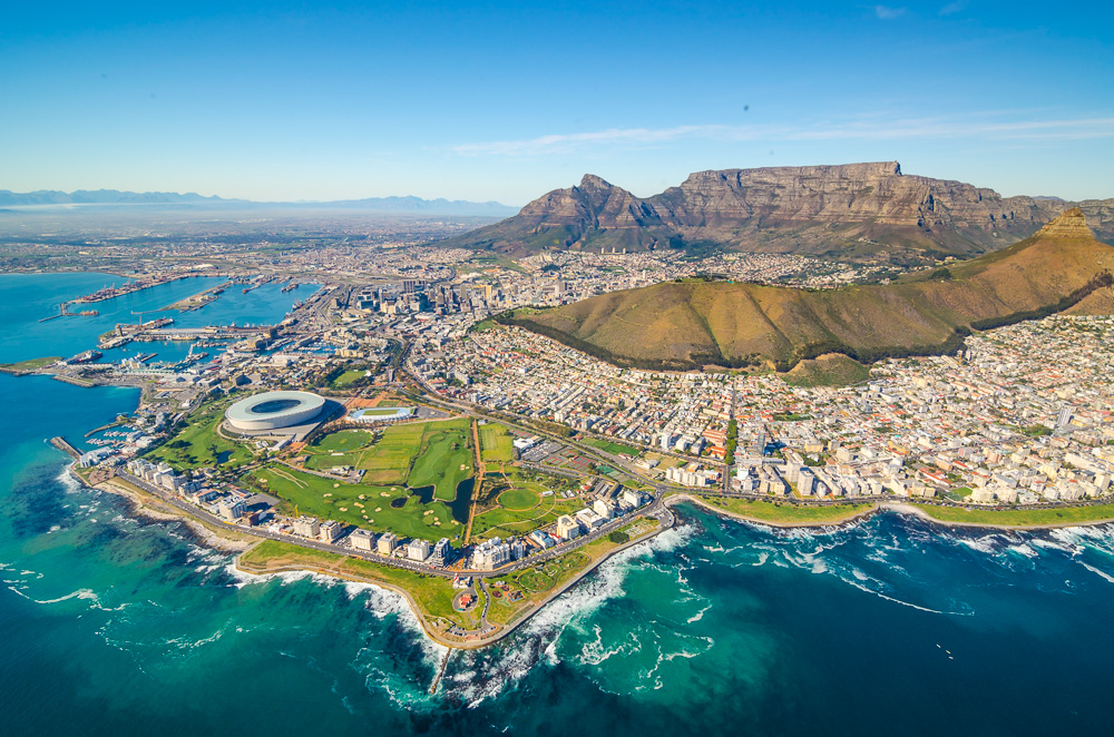 Cape Town, South Africa - Cityscape