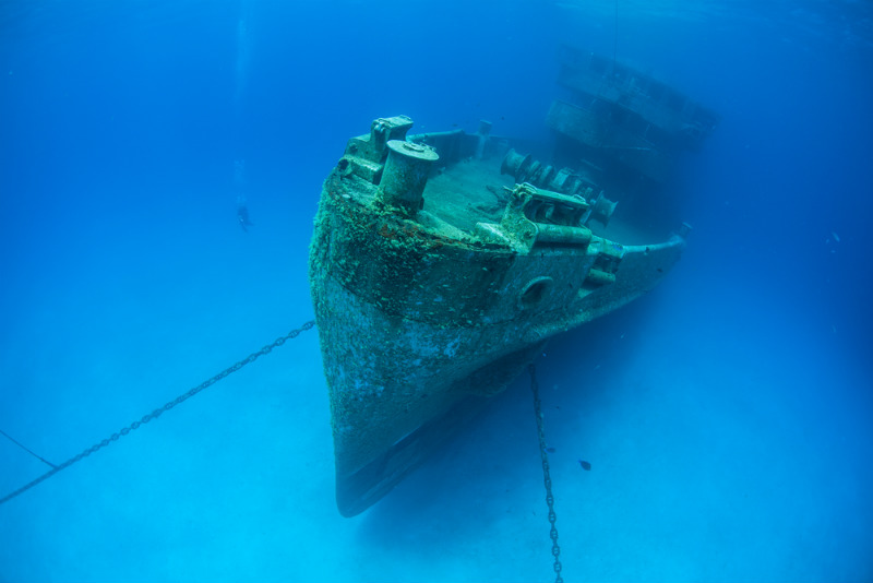 USS Kittiwake, Cayman Islands