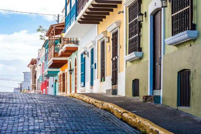Puerto Rico, Caribbean, Old San Juan, Spring Break
