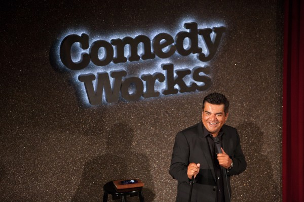 George Lopez at Comedy Works Landmark on their 5th anniversary