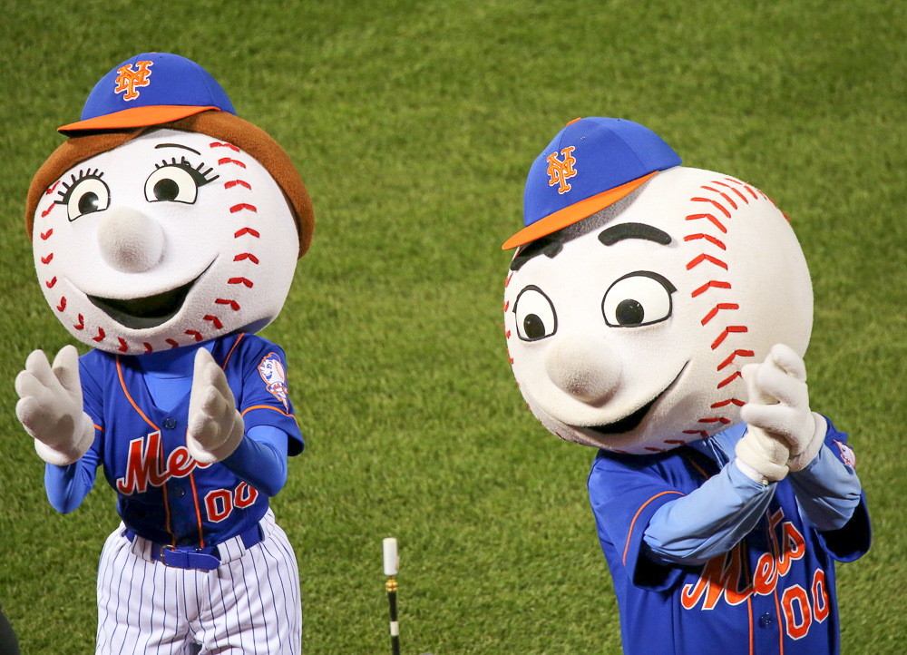 Orbitz-Baseball opening day-quirkiest baseball mascots of all time-New York Mets-Mr Met-Flickr