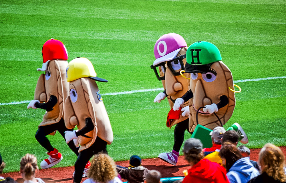 Orbitz-Baseball opening day-quirkiest baseball mascots of all time-Milwaukee Brewers-Racing Pierogies-Flickr-1