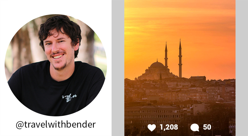 Orbitz-Travel Instagrammers you should follow-travelwithbender