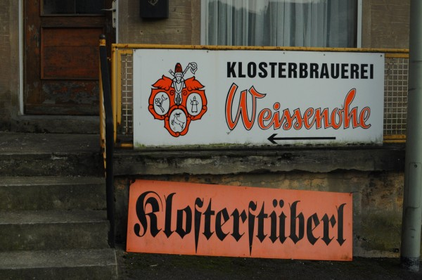 Sign in Weissenohe