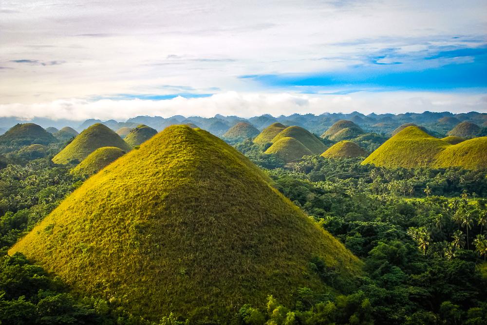 bohol chocolate hills -Philippines