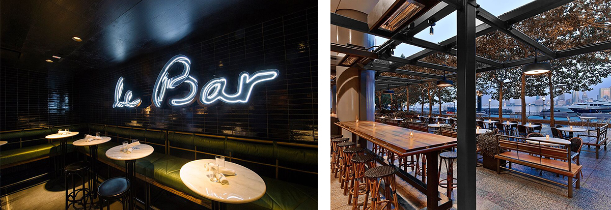 Le Bar and Beaubourg Brasserie