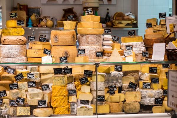 Cheese at Eataly