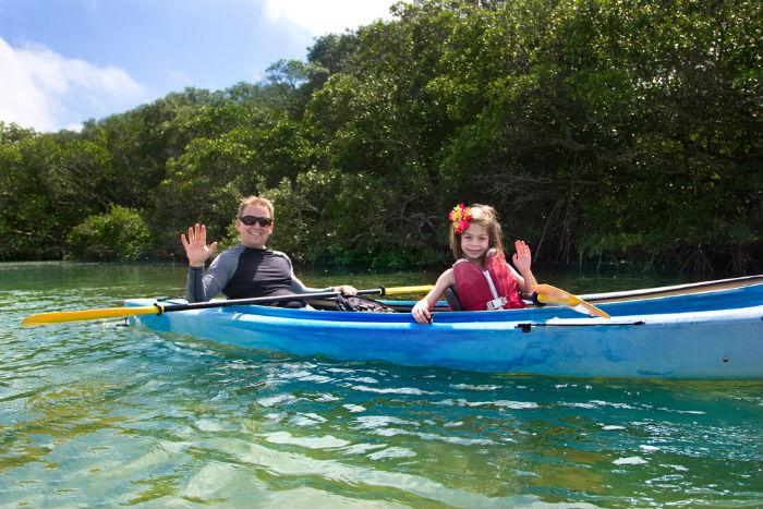 Destin, Florida, panhandle, kayaking, family