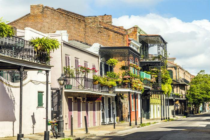 New Orleans, Louisiana, French Quarter, Mardi Gras, spring break