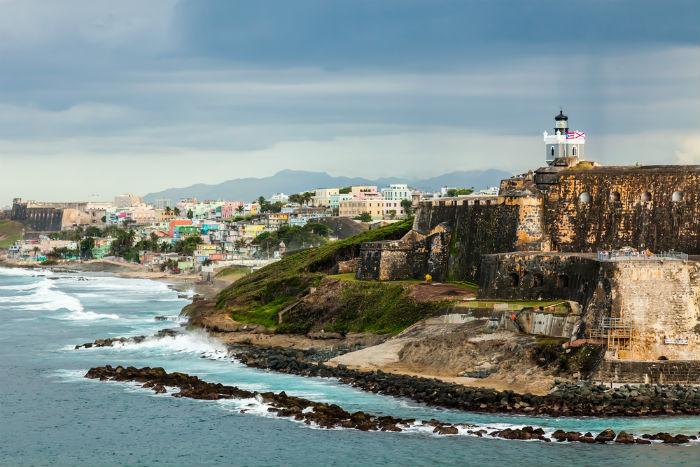 San Juan, Puerto Rico, Caribbean, travel, tropical
