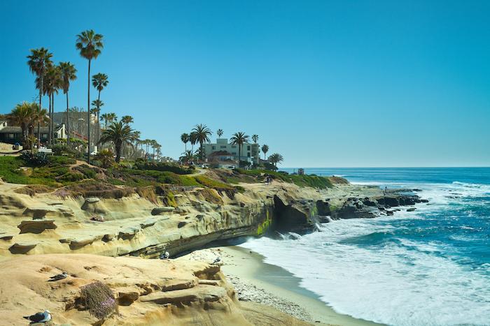 La Jolla Shores in San Diego, California